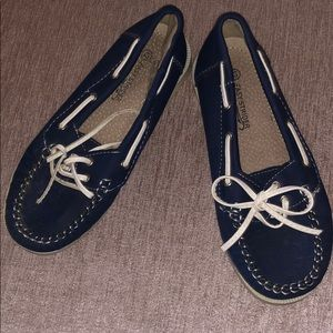 Other - Navy Boat Shoes